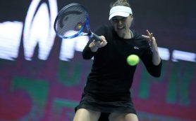Звонарева рассказала, как ей удается сочетать теннис и семью