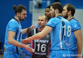 Волейболисты казанского «Зенита» обыграли «Белогорье» в матче чемпионата России