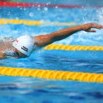 Пловец Морозов выиграл на дистанции 100 м вольным стилем на этапе КМ