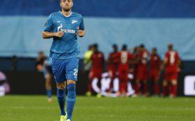 Дзюба не сыграет с «Бордо» в Лиге Европы из-за травмы