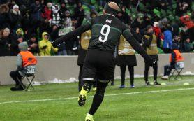 «Краснодар» одержал победу над «Акхисаром» в Лиге Европы