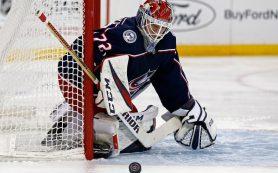 Бобровский стал второй звездой дня в НХЛ