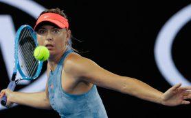 Мария Шарапова разгромила в Мельбурне вторую соперницу подряд
