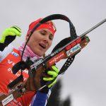 Кузьмина победила в спринте на этапе КМ по биатлону