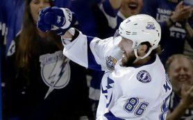 НХЛ в третий раз за неделю назвала Кучерова первой звездой дня
