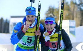 Россияне завоевали первое «золото» на чемпионате Европы по биатлону