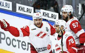 «Спартак» переиграл СКА и во втором матче серии плей-офф КХЛ