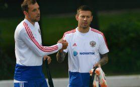Дзюба и Смолов вызваны в сборную России