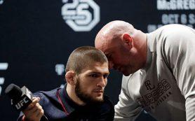 «Это недопустимо»: глава UFC вмешался в конфликт Макгрегора и Нурмагомедова