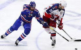 Питерские армейцы «размочили» счет в полуфинале плей-офф КХЛ против столичных одноклубников