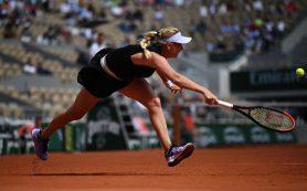 Потапова снялась с парного турнира на «Ролан Гаррос» из-за травмы