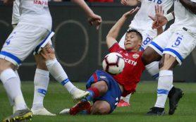 ЦСКА избежал поражения в матче с «Динамо»
