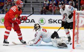 Россия разгромила Австрию на чемпионате мира по хоккею