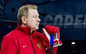 Жамнов впервые принял участие в тренировке сборной на ЧМ-2019