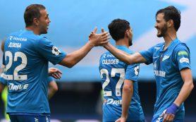 «Зенит» попал в двадцатку лучших клубов Европы