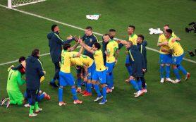Бразилия вышла в полуфинал Кубка Америки и ждет Аргентину