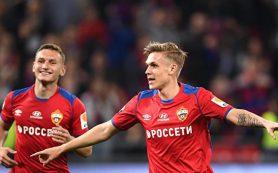 ЦСКА разгромил «Рубин» в контрольном матче благодаря хет-трику Сигурдссона