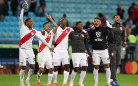Сборная Перу вышла в финал Кубка Америки
