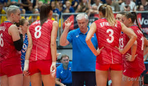 Волейболистки сборной России сыграют с командой Бельгии в 1/8 финала ЧЕ
