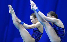 Беляева и Тимошинина стали третьими в синхронных прыжках с вышки на ЧЕ