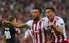 «Олимпиакос» разгромил «Краснодар» в квалификации Лиги чемпионов