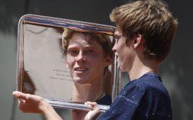 Экс-первая ракетка мира Роджер Федерер признался, что поражен игрой россиянина Андрея Рублева
