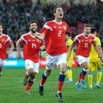 Сборная России поднялась на четыре места в рейтинге ФИФА и стала 42-й