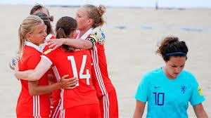 Назван состав женской сборной РФ по пляжному футболу на Всемирные игры