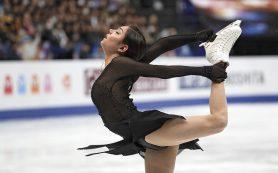 Медведева выиграла короткую программу на турнире в Китае