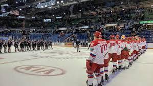 Молодежная сборная России обыграла сборную Главной юниорской лиги Квебека