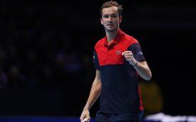 Россиянин Даниил Медведев признал, что это был лучший год в его карьере