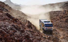 Гонщик «КАМАЗ-мастер» Андрей Каргинов выиграл «Дакар» среди грузовиков