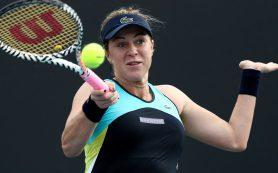 Российская теннисистка Анастасия Павлюченкова вышла в третий круг Открытого чемпионата Австралии