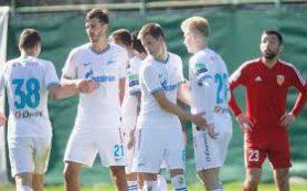 «Зенит» обыграл «Аланию» в товарищеском матче на сборе в Турции