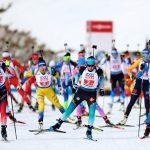 В эстафете микст, открывшей программу чемпионата мира, сборная России заняла лишь шестое место