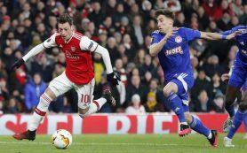Лондонский «Арсенал» сенсационно вылетел из Лиги Европы