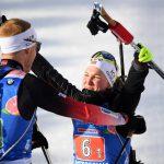 Норвегия выиграла сингл-микст