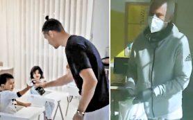 Криштиану Роналду учит детей мыть руки, а Жозе Моуринью работает волонтером