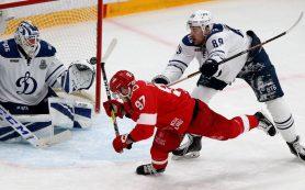 «Спартак» и «Динамо» сыграют шестой матч серии плей-офф КХЛ без зрителей