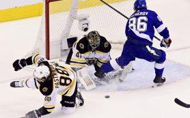 Россияне Никита Кучеров и Андрей Василевский штурмуют клубные рекорды «Тампы» в плей-офф НХЛ