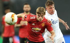 «Манчестер Юнайтед» обыграл в четвертьфинале Лиги Европы «Копенгаген» благодаря пенальти