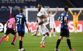 «ПСЖ» победил «Аталанту» в четвертьфинале Лиги чемпионов благодаря мячам на 90-й и 93-й минутах