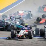 """Вторую гонку """"Формулы-2"""" в Сочи пришлось приостановить"""