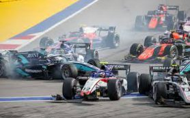 Вторую гонку «Формулы-2» в Сочи пришлось приостановить