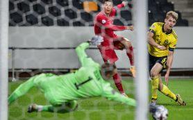 Юбилейный мяч Роналду принес сборной Португалии победу над Швецией