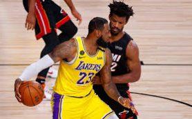 «Лейкерс» обыграли «Майами» и находятся в шаге от победы в финале НБА