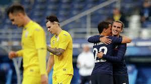 Сборная Франции разгромила команду Украины в товарищеском матче