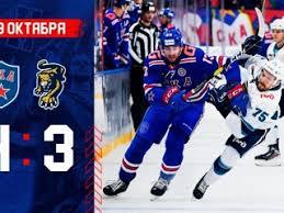 СКА под руководством Романа Ротенберга уступил московскому «Динамо»