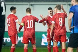 Молодежная сборная России по футболу вышла на чемпионат Европы-2021