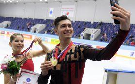 Фигуристы Мишина и Галлямов победили в парном катании на этапе КР в Казани